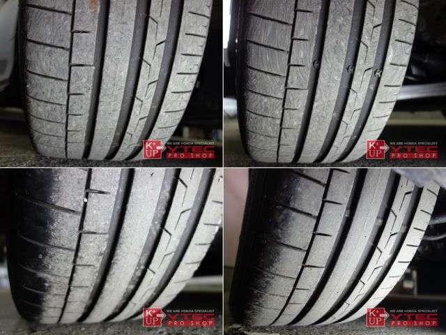 タイヤ溝は残量十分でこのまま十分使っていただけます。タイヤ交換やシーズンタイヤもお任せください。車両コンディションに関するご質問、ご来店のご予約もお気軽にお問い合わせください!