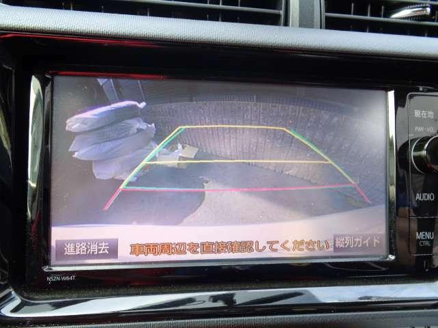 駐車時の後方確認も安心のバックカメラ☆