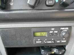 AM/FMラジオつきです