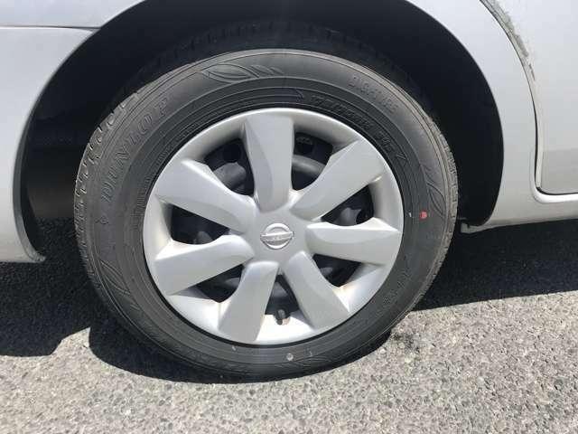 タイヤ溝も十分です