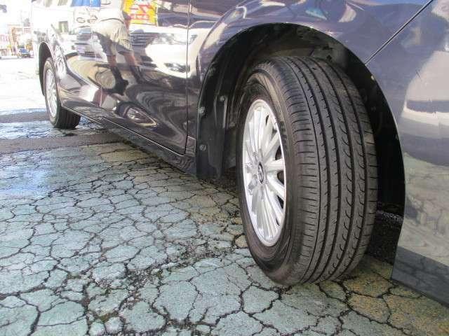 タイヤは有ります。