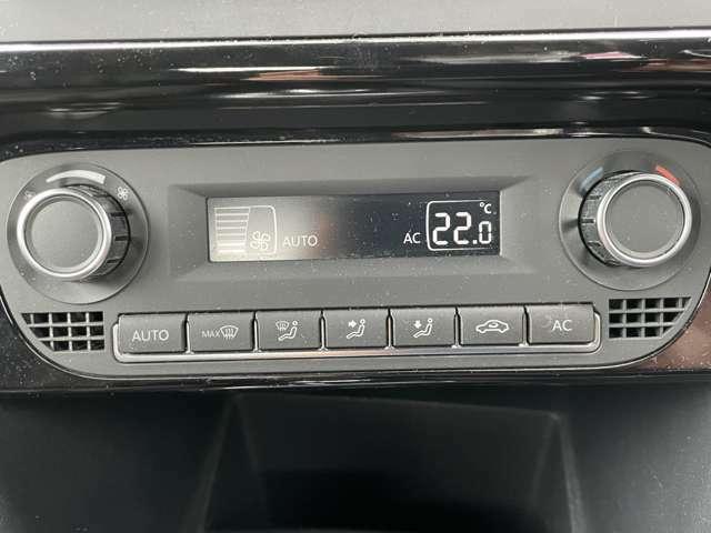 設定した温度まで自動で調整してくれるオートエアコン♪上手に使えば燃費に貢献!
