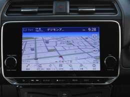 フルセグTV☆録音機能搭載☆リーフ専用ナビで知らない町もスムーズに行くことが出来ます。