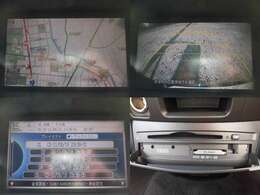 純正HDDインターナビ ミュージックサーバー DVD再生 バックカメラ装備