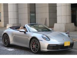 ポルシェ 911カブリオレ カレラS PDK 左H ディーラー車 ベージュ内装