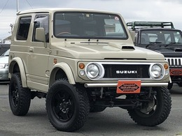 スズキ ジムニー 660 ランドベンチャー 4WD 全塗装 リフトアップ オーバーフェンダー