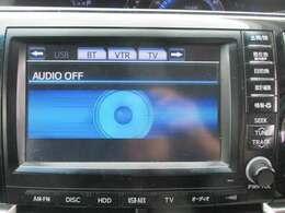 メーカーHDDナビです!道案内はこちらにお任せ☆フルセグTV・ブルートゥース機能はもちろんCD録音・DVD再生もできちゃいます!ドライブが楽しくなりますね♪