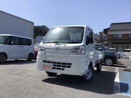 ダイハツ ハイゼットトラック 660 スタンダード SAIIIt 3方開 4WD スマアシ LEDヘッドライト 走行4km