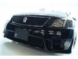 トヨタ クラウンアスリート 2.5 アニバーサリーエディション 特別仕様車 本革 新品ホイール新品車高調