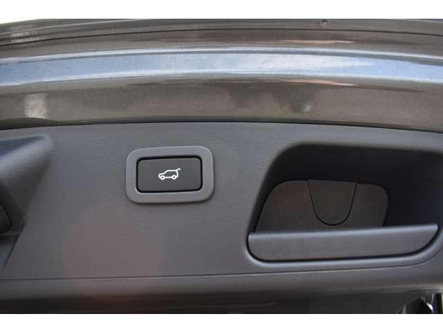オプションのパワージェスチャーテールゲートを装備!開閉スイッチ、または車体後部の左右いずれかのボディ下に足をかざすとテールゲートが自動的に作動!荷物で両手がふさがっていても簡単に操作できます!