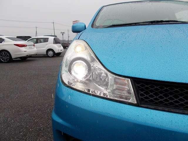 【ヘッドライト(キセノン)】白色光で遠くまで明るく照らし、夜間運転の安全をサポートします☆