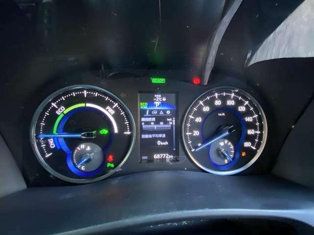 ハイブリット専用オプティトロンメーターパネル(4.2インチインフォメーションディスプレイ)☆☆AIS車輌検査済で走行距離や車両の状態を管理しています。!☆☆
