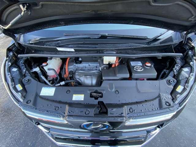 2.5L(2AR-FXE)+2JMフロントモーターのハイブリットパワーユニット!!6速シーケンシャルシフト/E-Four4WDシステム
