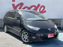 トヨタ エスティマ 2.4 アエラス ユーザー買取車 HDDナビ  両側パワスラ