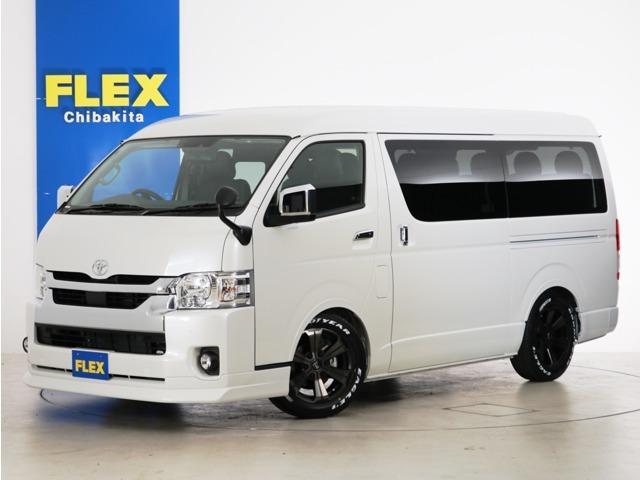 新車未登録 ハイエースワゴンGL ガソリン2WD FLEXオリジナル zero WAGON-bedカスタムPKG!