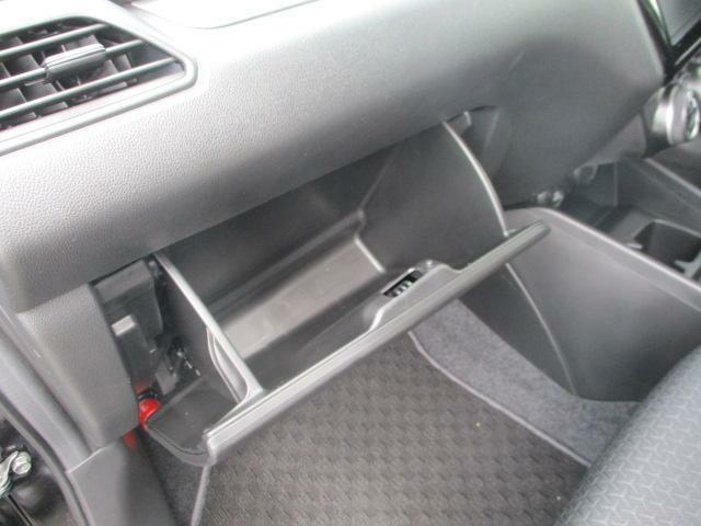 助手席前の収納スペース★車検証などはグローブボックスへ☆もしもの時のSRSエアバッグを助手席に装備!