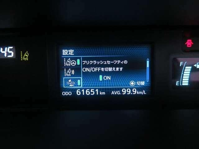 【Toyota Safety Sense】1.自動(被害軽減)ブレーキ2.車線はみ出しアラート3.自動ハイビーム