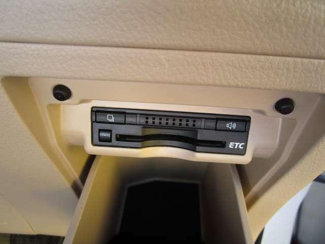 ETC装備済み!高速道路を走行する際には必須アイテム!