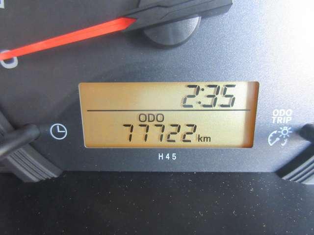 走行77,730キロ☆機関状態良好◎これからの車です!もちろん新車時保証書・点検整備記録簿付きで安心の厳選車両☆☆☆お買得な一台で早い物勝ちです♪