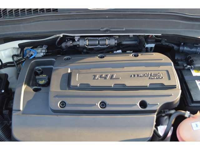 ・独創的なマルチエアを搭載したエンジンは、力強い走りと低燃費の両立を実現しております! ◆TEL:0120-398-955 担当:金蔵・阿部・北野・沼田・藤村◆