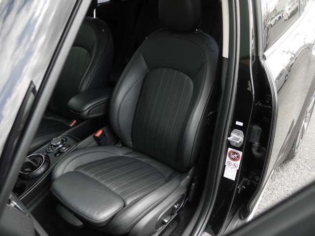 運転席、助手席ともに綺麗に保たれています♪革の状態の良好です♪