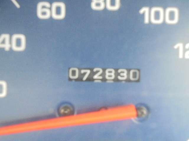 走行72,830キロ。