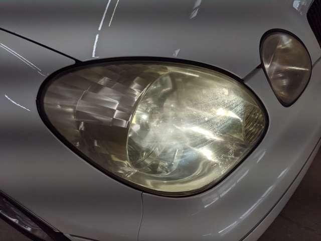 ヘッドライトの黄ばみやクモリも無く綺麗な状態をキープしています!