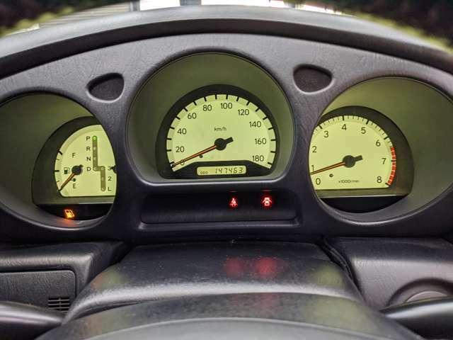 走行14万キロとは知っておりますが、タイミングベルト交換済み車両になります!!状態が良いのでお早目に!!