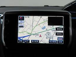 ストラーダSDナビを装備でロングドライブも快適です。フルセグTV視聴可能!