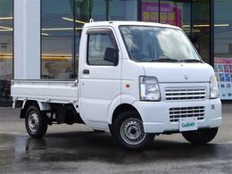 スズキ キャリイ 660 KCエアコン・パワステ 3方開 4WD 1オーナー 4WD ゴムマット 保証書