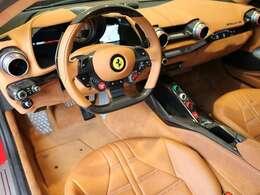車内はクオイオでまとめられており、明るく外装との相性が良いカラーリングです。