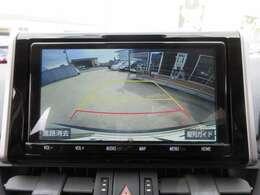 純正9型SDナビ付き♪ ガイド線付バックカメラで駐車も安心ですね♪ モニターも大きくとても見やすいですね♪