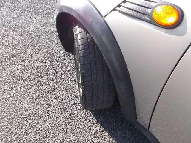 タイヤはまだまだ使えます。