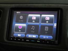 ギャザズ8インチメモリーナビ(VXM-195VFEi)を装着しております。AM、FM、CD、DVD再生、Bluetooth、フルセグTVがご使用いただけます。初めて訪れた場所でも道に迷わず安心ですね!