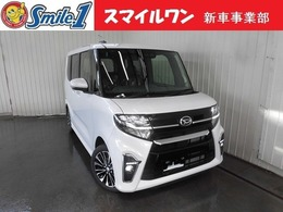 ダイハツ タント 660 カスタム RS 新車/装備10点付 7型ナビ ドラレコ