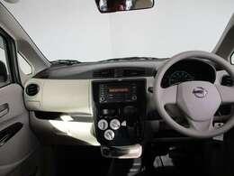 窓ガラスが大きく、視界もみやすい。これで運転安心ですね。