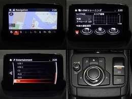 マツコネナビ装備!インターネットラジオの視聴・ハンズフリー通話などの機能を搭載!走行中でもコマンダーコントロールや音声認識機能で安全に操作でき停車中には7インチディスプレイでタッチパネルで簡単操作可能