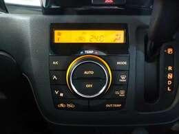 エアコンはオートエアコンを装備☆見やすい液晶画面で操作、操作も簡単で快適です☆