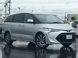 トヨタ エスティマ 2.4 アエラス 4WD セーフティセンス 純正ナビ コーナーセンサ