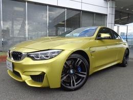 BMW M4クーペ M DCT ドライブロジック 19AW黒革デモカー認定中古車