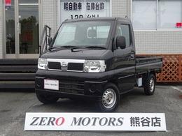 日産 クリッパートラック 660 SD ブラックリミテッド 4WD タイベル交換済 1オ-ナ- ETC
