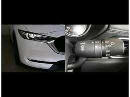 【アダプティブ・LED・ヘッドライト】 ハイ/ロー/ワイドの3種類のLEDライトを常に最適な配光に自動制御します。対向車や歩行者には照射せず、必要な部分にだけ光を当てます。