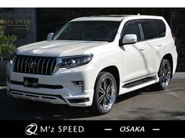トヨタ ランドクルーザープラド 2.8 TX Lパッケージ ディーゼルターボ 4WD ZEUS新車カスタム SR DA+全方向カメラ+BSM