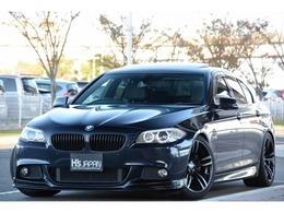 BMW 5シリーズ 528i Mスポーツパッケージ 車高調 19インチAW フロントリップ 黒革