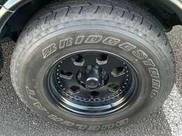 センターラインアルミホイール付き!ブラック塗装済!タイヤ山十分御座います。