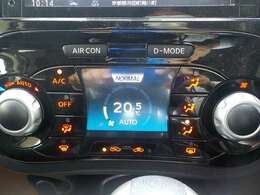 温度設定のみで快適空間になるオートエアコン