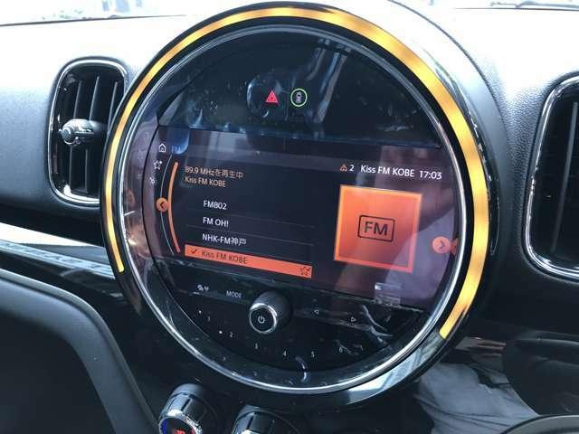 純正HDD【iDriveナビゲーション】を装備。装備中のiDriveナビゲーションはモニターを直接指で触って操作することが可能です!目的地までのルート案内はもちろん、メインテナンス時期のお知らせなども確認可能!