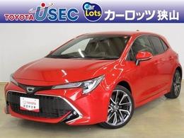 トヨタ カローラスポーツ 1.2 G Z セーフティセンス 純正SDナビ ETC