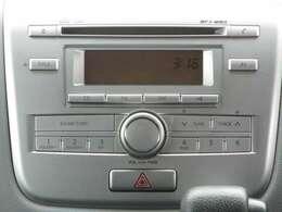 シンプルが良い! 『CD一体式AM/FM電子チューナーラジオ』