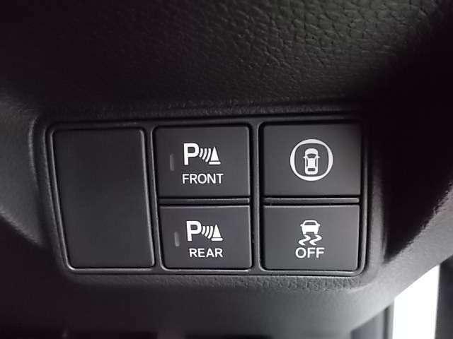 前後のパーキングセンサーもあり車庫入れや縦列駐車時はとてもありがたいですね。